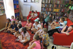 Nyári napközi a gyermekkönyvtárban – 2021. július 26.