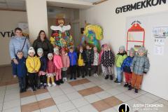 Székács ovisok a gyermekkönyvtárban - 2021. október 15.