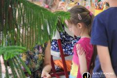 Székkutasi nyári táborozók a  gyermekkönyvtárban - 2021. július 14.