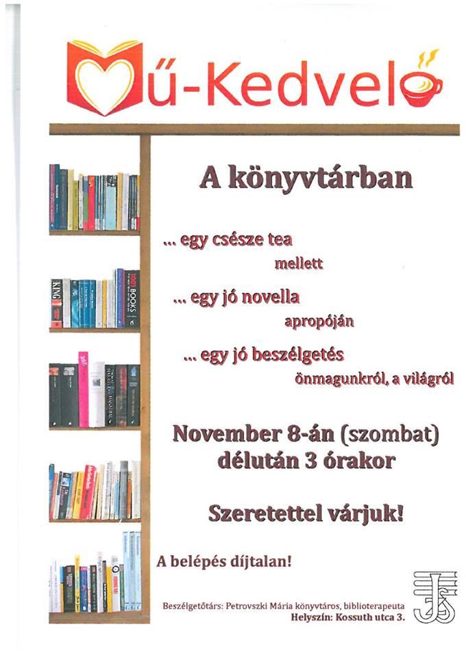 November 8.: Mű-Kedvelő