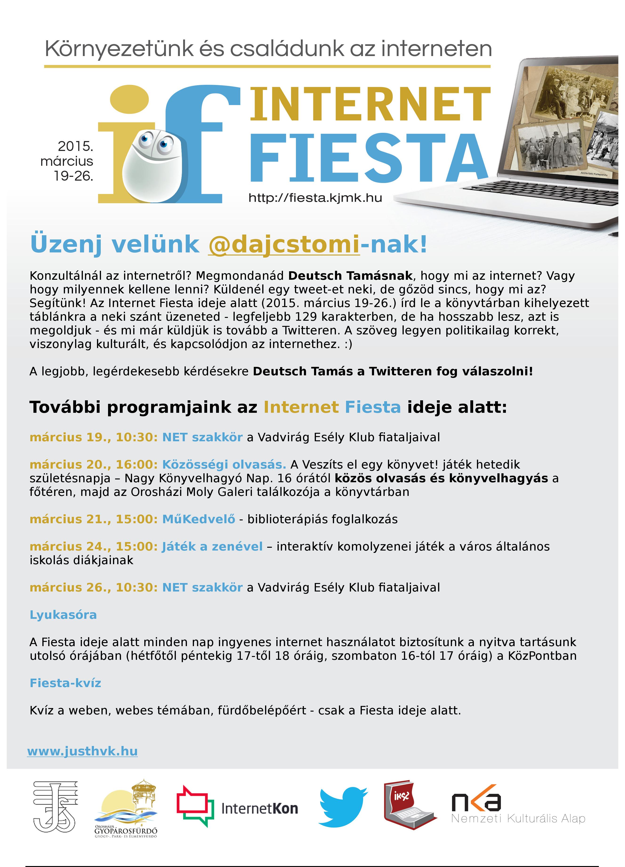 Üzenj velünk @dajcstomi-nak!