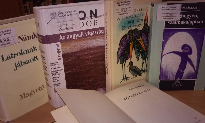 75 éve született Gion Nándor író